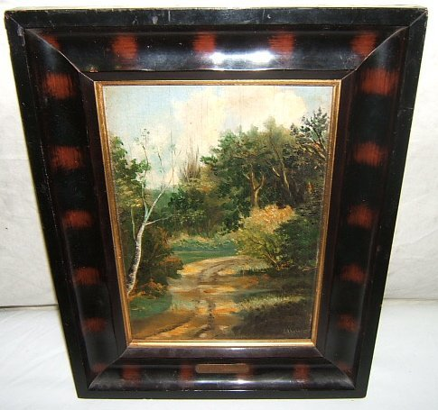 6: Antique Painting by Proff. H.A. Scheers Holland
