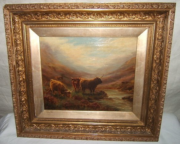 11: Antique Painting by H. Todd
