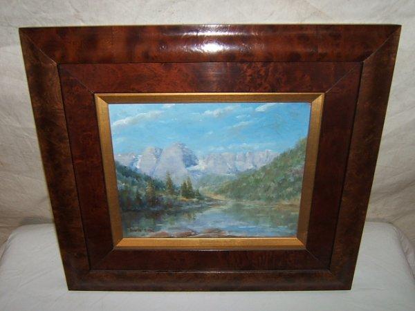 12: Painting by David Sorg Maroon Bells