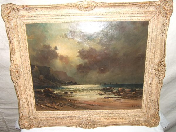 21: Antique Painting by W. C. Webb