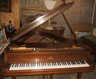 23: Antique Steinway Baby Grand Piano