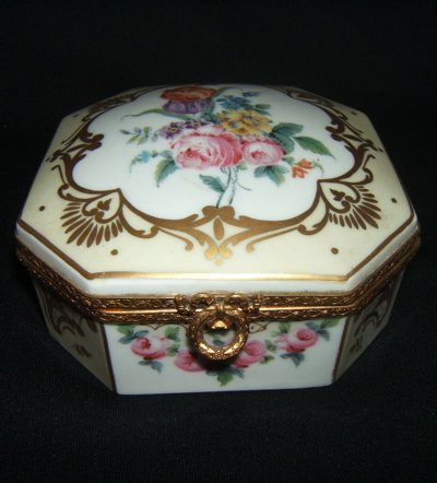 101: Antique French Jewelry Box