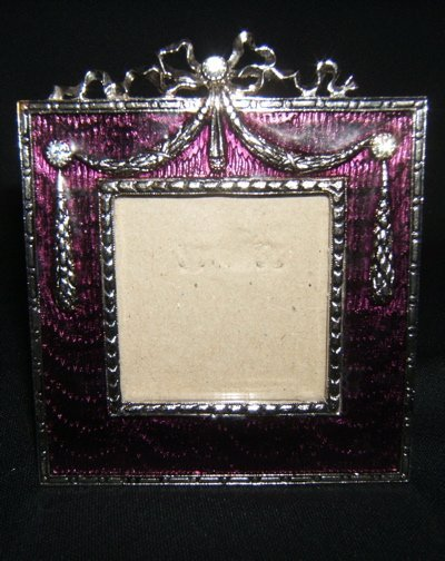 102: Enameled Picture Frame
