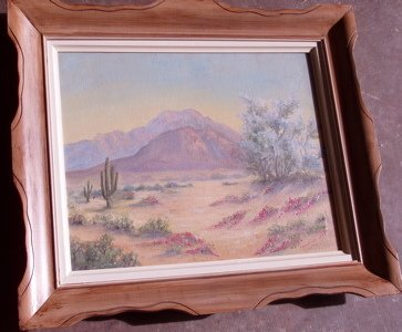 417: Valentine Tappero South Western Painting
