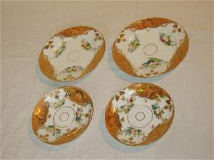 4 Painted Plates