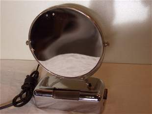 Deco Style Lighted Mirror
