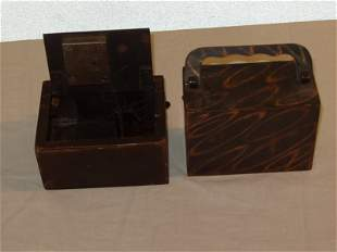 Two Antique Coin Banks