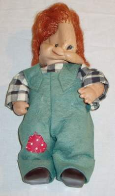 German W. Goeble Doll 1957 Charlot Byl