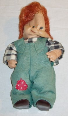 24: German W. Goeble Doll 1957 Charlot Byl