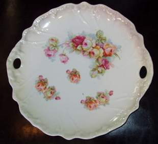 Bavaria Hand Painted Plate