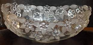 Walther Crystal Mikasa West Germany Oblong Bowl