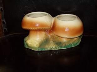 Ceramic Mushroom Vase