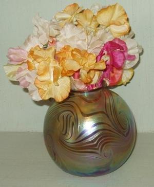 104: Art Glass Vase