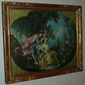 105: Print - Man & Woman Courting