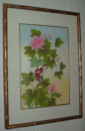 107: Japanese Wood Block Print