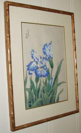 108: Japanese Wood Block Print