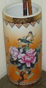 121:  Oriental Chinese Umbrella Stand