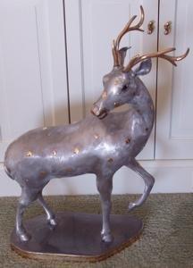 124: Decorative Deer Statue