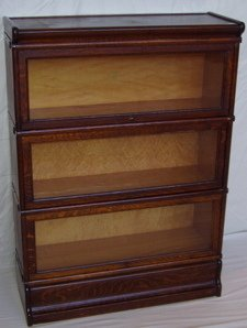 8: Lawyer's Quarter Sawn Oak Bookcase by Macey