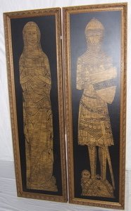 119: Roman or Egyptian Style Frame Pictures