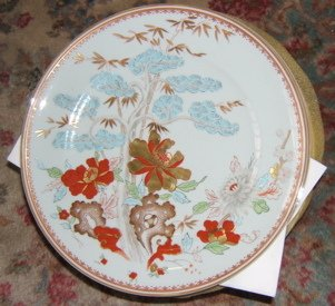 "222: Vista Alegre ""For Mottahedeh"" 10 China Plate"