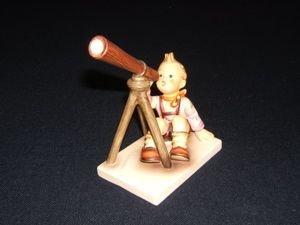 """220: W. Germany Hummel Figurine, """"Star Gazer"""""""