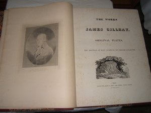 1: Illustrations Book by James Gillray