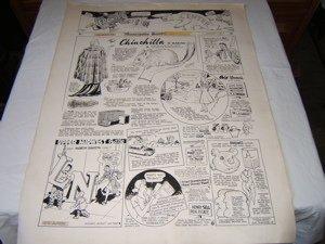 2: Comical Poster 1951 Engraving