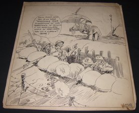 3: Gaar Williams Comical Poster Editorial Cartoonist