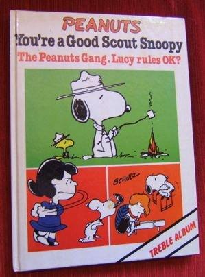 4:  Signed Schulz Peanuts Treble Album Book