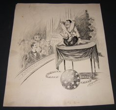 13: 1898 Cartoonist Drawing by Dalrymple