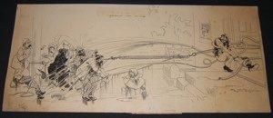 16: Cartoonist Syd B. Griffin 1891 Drawing