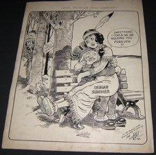23: Cartoonist Leo Egli Drawing 11-19-39