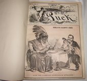 73: Cartoon Book by Puck Magazine Vol. 2 1877 - 1878