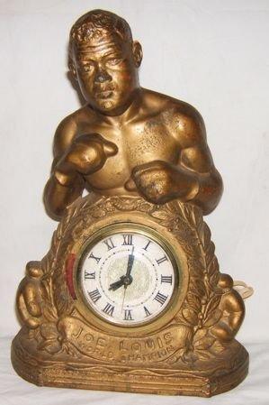 76: World Boxing Champ Joe Louis Clock Fan Mail & Docs
