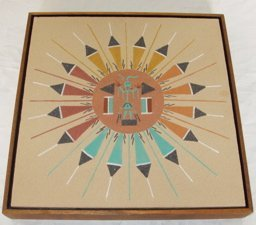 3: Indian Sand Painting