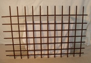 8: Antique 18th Century Wrought Iron Window Cover