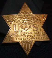 10: U.S. Special Agent Naval Badge