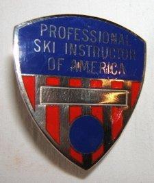 18: Professional Ski Instructor Badge of America