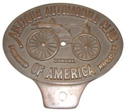 23: Antique Automobile Club 1935 Bronze