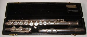 24: W.T. Armstrong Flute Elkhart Model 102