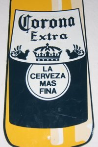 89: Advertising Corona Beer Sign - 2