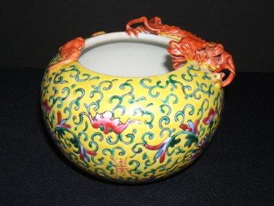 302: Antique Chinese Porcelain Dragon Bowl