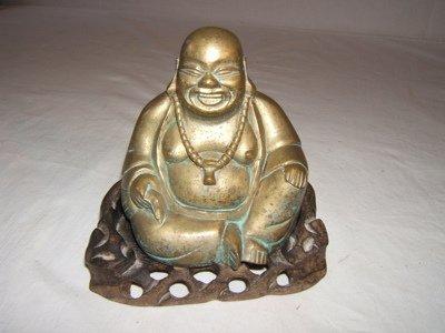 309: Antique Japanese Bronze Buddha