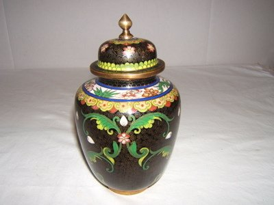 310: Chinese Cloisonné Jar with Lid
