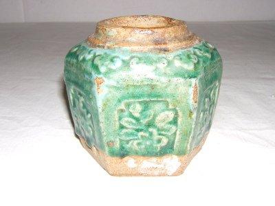 321: Chinese Celadon Ceramic Vase