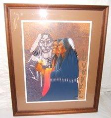3: Indian Painting by Robert Redbird