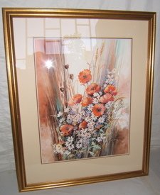 4: Water Color Painting by Dorthy Mendoza 1984