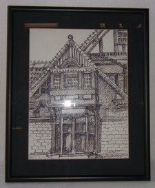 18: Drawing of Mansion by O. Hilgoe
