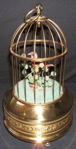 22: German Singing Bird in Cage